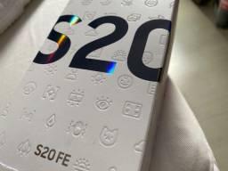 Samsung Galaxy S20 FE 128gb, Snapdragon, Garantia 1 ano, NF, Lacrado, Anatel
