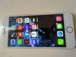 iPhone 7 rose 32 gb iCloud livre tudo certinho