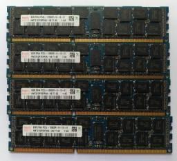 Kit Upgrade Memória Servidor 32GB 2Rx4 Pc3l-10600r Hynix