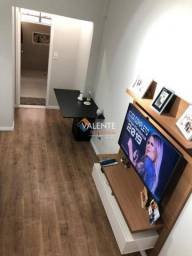 Apartamento com 1 dormitório à venda-por R$ 190.000,00 - Centro - São Vicente/SP