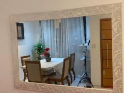 Espelho  de parede com moldura