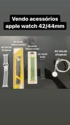 Acessórios apple watch - pulseira e carregador apple watch