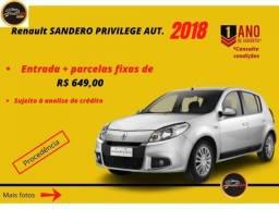 Renault Sandero PRIVILEGE AUT. 1.6 2013