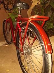 Bicleta monark vermelha
