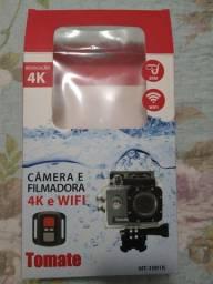 Câmera Tomate e kit com várias peças. Precisa trocar a bateria da câmera. Doação.