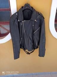 Duas jaquetas de couro 100% legítimo