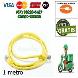 Cabo de rede - 1 metro - entrega grátis - promoção 15 reais