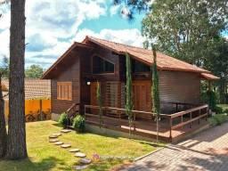 Chalé 2 dormitórios - Parque das Hortênsias em Canela