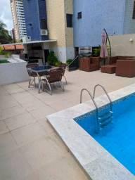 Ótimo Apartamento, 03 Quartos a 500m da Praia de Manaíra
