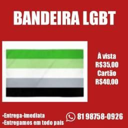 Bandeira Lgbt aceitamos cartão!
