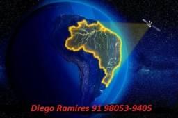 Técnico em antenas via satélite.