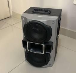 Cubinho amplificador para contrabaixo 60 W, Leve, compacto, graves puros e boa potência