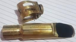 Boquilha Sax Tenor OTTO LINK Early Babbitt 7* anos 70