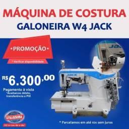 Máquina de costura galoneira Jack W4 ? Entrega Grátis