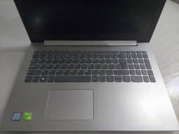 Notebook Lenovo Ideapad 330 i7 MX150 (Leia descrição)
