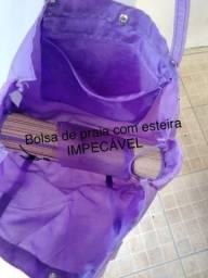 BOLSA DE PRAIA COM ESTEIRA