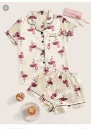 Vendo pijama em cetim