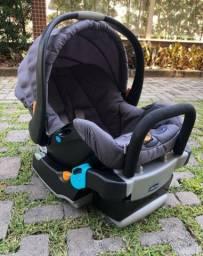Kit bebê conforto com base para o carro + Carrinho de Passeio Chicco