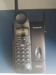 Telefone sem fio Panasonic em perfeito estado modelo KX TC 1488 LBB