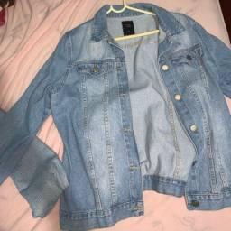 Vendo jaqueta jeans vintage