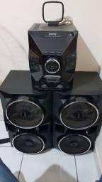 Mini System Sony Mhc-gpx77, TOP e Muito alto
