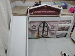 Cama infantil casinha linda