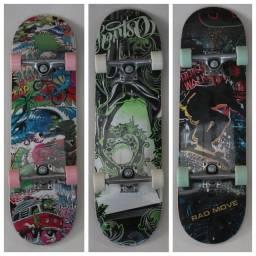 Skate Montado Completo Infantil