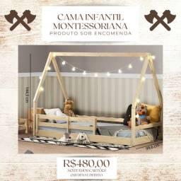 Cama Montessoriana Ifantil