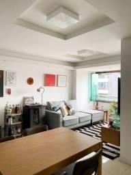 76- Apartamento, 73m², andar alto, área de lazer e pronto para morar
