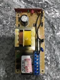Placa central eletrônica automatização de portao
