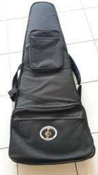 Capa para baixo - Bag super luxo - Semicase para contrabaixo