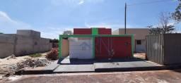 Casa com 03 quartos, Jardim Nova Barra- MT