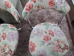 Cadeiras Cromadas