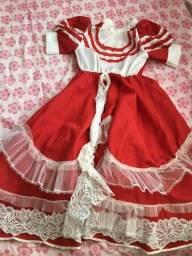 Vestido de prenda infantil P R$55