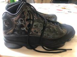 Nike Jordan Retro Black 13 Cap And Gown! Original! Nº 44