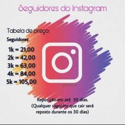 Seguidores, curtidas e views do Instagram!