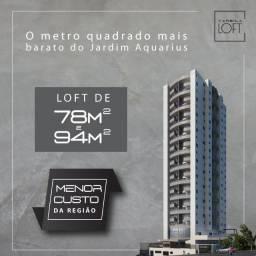 Título do anúncio: Raridade * Loft duplex 78m2 * Aquarius - São José - últimas 4 unidades!!!