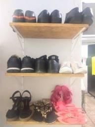 03 Suportes de Pallet pra Sapatos Muito Útil!! Ótimo Estado!