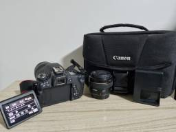Câmera Canon  EOS Rebel T6s + Lentes