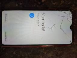 Samsung A01  Com pouco tempo de uso