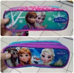 Estojo Duplo Frozen Disney Sentini - Liquidação.