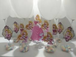 centro de mesa princesa Aurora Bela adormecida