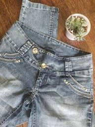 Calça jeans fruto de mel