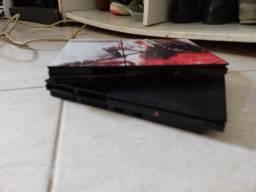 Vendo ou troco, PS2 e monitor com jogos