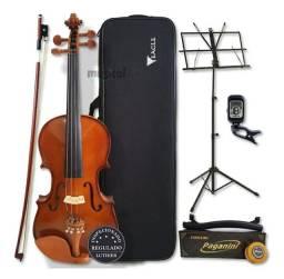 Kit completo Violino Eagles 4/4 Ve441