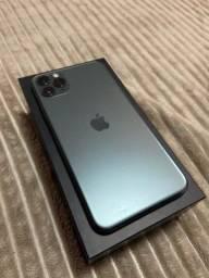 Iphone 11 pro max 64gb pra vender logo