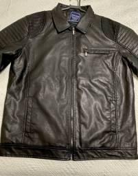 Título do anúncio: Jaqueta de couro masculina