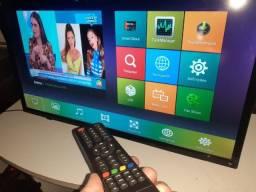 "Smart TV Led 32"" HD Philco Android (Semi-nova)"