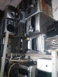 Aparelhos de Som várias marcas Sony Gradiente Philips
