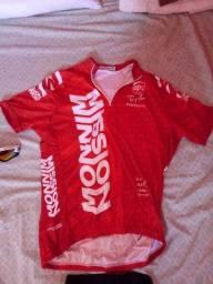 Camisa de ciclismo tamanho g